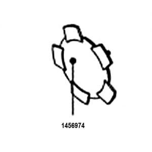 1456974 Abdeckkappe für Hinterrad Adventure A10 Stück