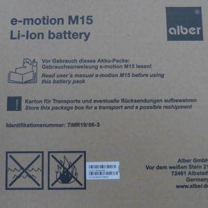 2 -Akkus -fuer- ALBER -M15 -E-Motion-M-15-RESTKRAFTUNTERSTUTZUNG