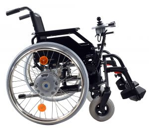 E-FIX 20 Alber mit Rollstuhl