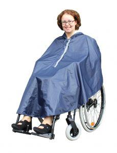 Rollstuhl Poncho / Regenponcho / Regencape Rollstuhponcho