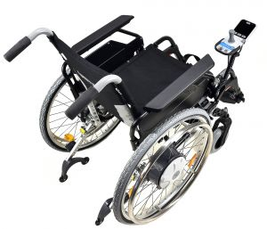 E-FIX 36 Alber mit Rollstuhl E - FIX