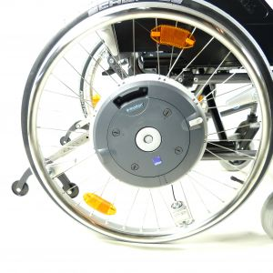E-Motion M15 Alber mit Rollstuhl M 15