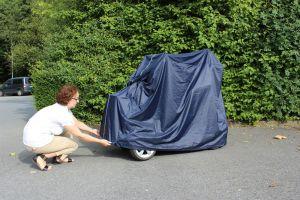 Scooter - Elektromobil  Abdeckung - Garage rainPro